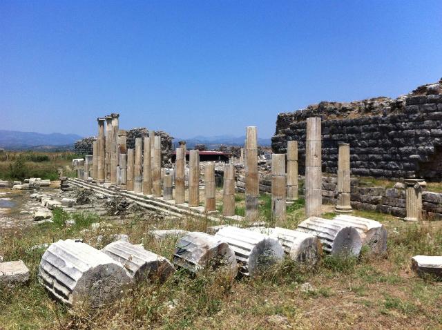Магнесия-на-Меандре - античный город в тени Эфеса, часть 2