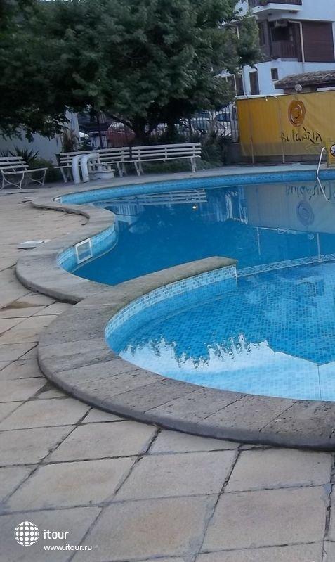 Бассейн возле отеля.
