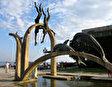 Скульптура Ныряльщики