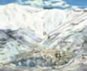 Mounting skiing resort