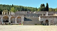 Руины асклепиона на острове Кос