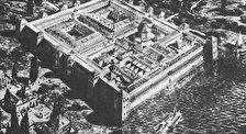 Дворец Римского Императора Диоклетиана.  Вестибюль. Перистиль.