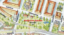 Ботанический сад и Университетская библиотека