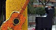 Фестиваль лимонов в городе Ментон