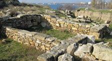 Руины античного города Мирмекий