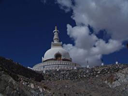 купол храма в Ладахе