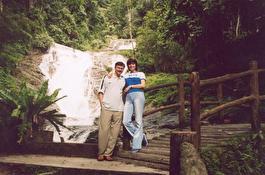 Малайзия - горы Камерун, водопад после дождя