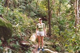 О. Пенанг - национальный парк, дорожка сквозь джунгли к пляжу Обезьян