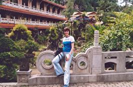 китайский храм, по дороге от Куала Лумпур на о. Пенанг