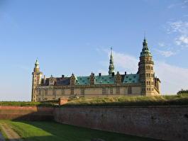Дания - крепость Кронборг - замок Гамлета