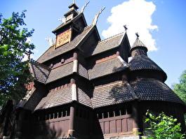Норвегия - церковь 11 век