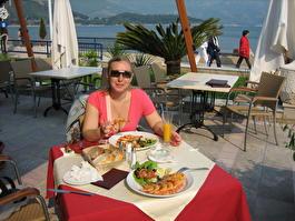 Ресторан \Олимпия\ на набережной г.Будва