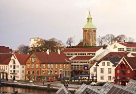 Ставангер, старый город