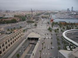 Барселона. Вид с канатной дороги
