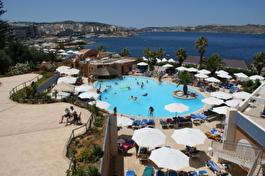 Dolmen Resort Malta view from room 373