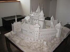 Замок в Бойнице в миниатюре