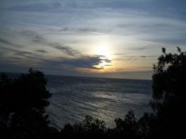 Закат над Триестом