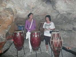 клуб в пещере(Баваро)