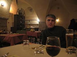 в ресторане Sisalik