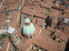 Вид с башни Болонья