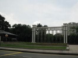 Истана Парк, напротив Дворца, Сингапур