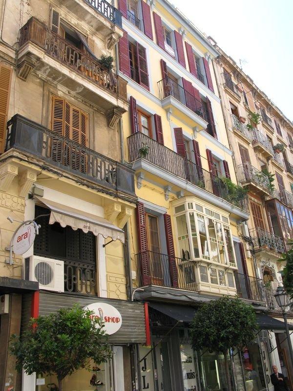 Palma de Mallorca - фасады улиц