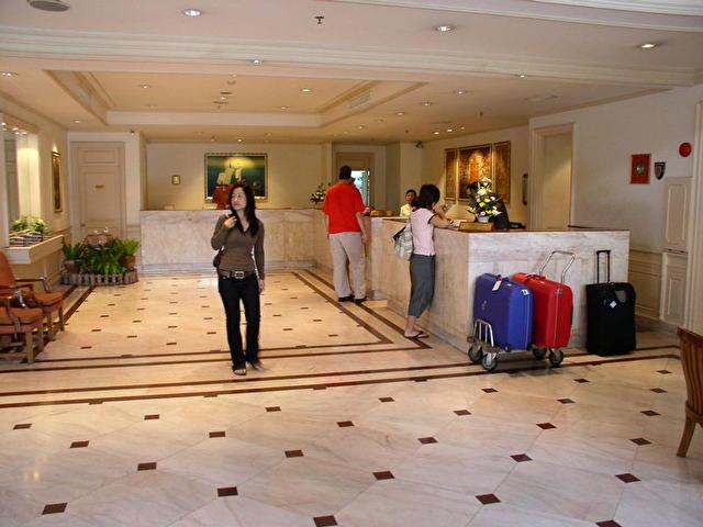 ресепшн отеля D'MA PAVILION, Таиланд