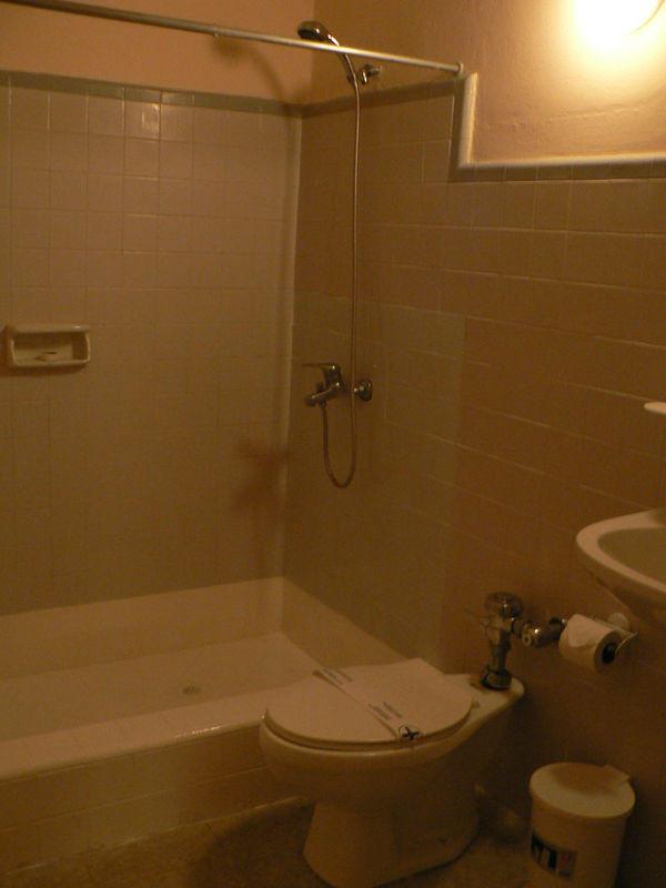 ванная комната стандартного номера INGLATERRA, Куба