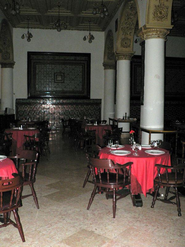 ресторанчик в оетле INGLATERRA, Куба