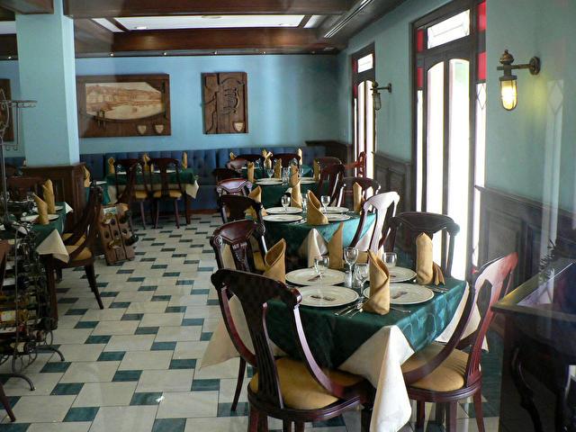 ресторан отеля ARMADORES DE SANTANDER, Куба