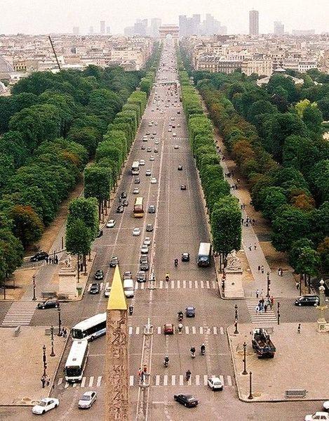 Avenue de Champs-Elysees