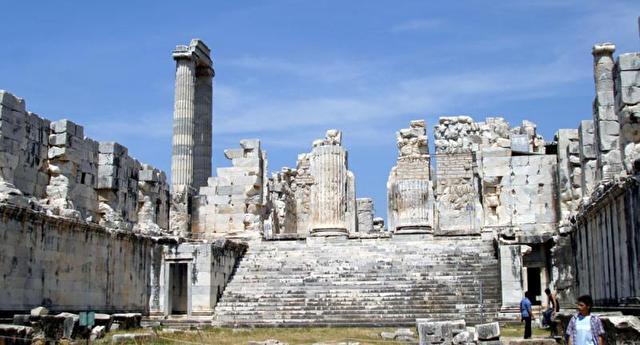 The Apollo temple of Didyma
