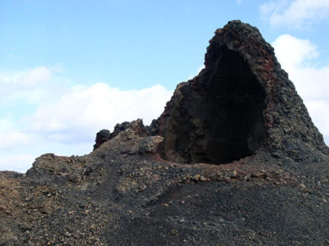National Park of Timanfaya - вулканчик
