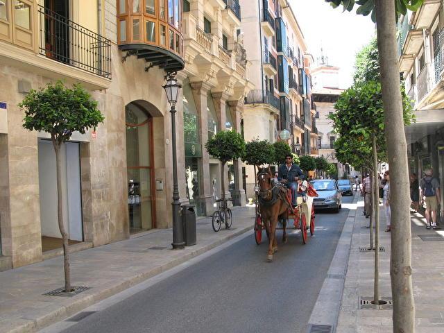 Palma de Mallorca - улицы Пальмы