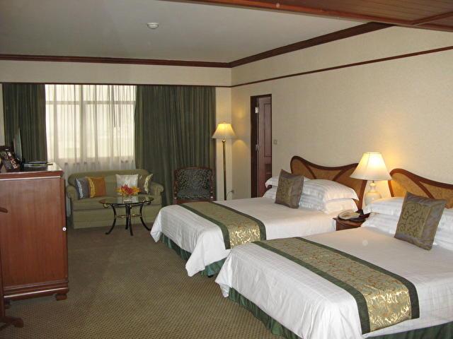 Family (1 комната, 2 большие кровати, данный номер можно соединить с обычным номером DeLuxe), SIAM CITY, Таиланд