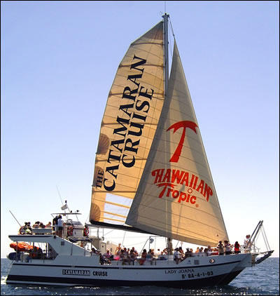 The Catamarаn cruise
