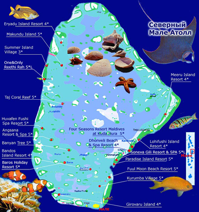 North Male Atoll