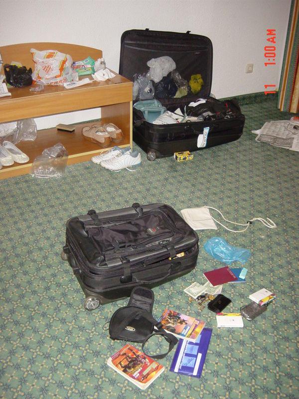 вот так воруют в номере отеля
