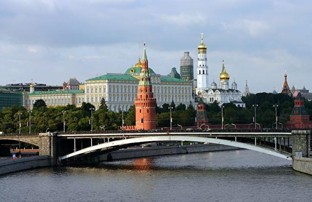 Кремль, вид с Юго-Востока