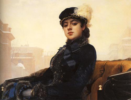 И.Н. Крамской, портрет \
