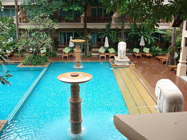 AVALON BEACH RESORT, Таиланд бассейн