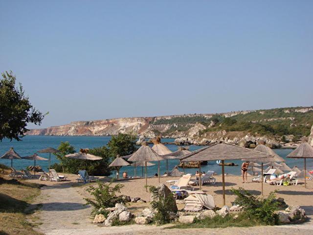 Болгария, отель Руссалка, центральный пляж