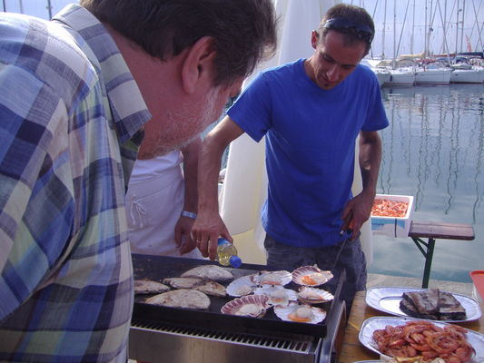 Рыбарска фиеста в порту Фунтаны
