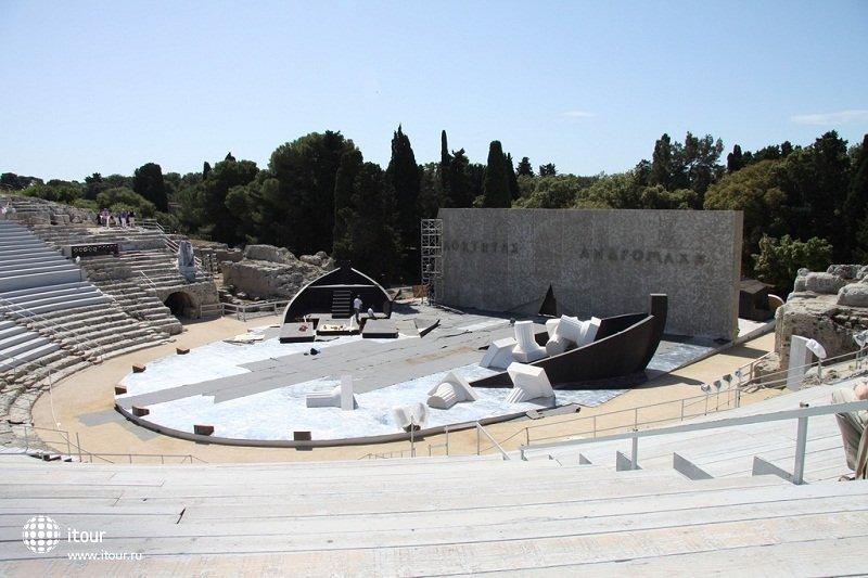 Театр Сиракузы. Греция