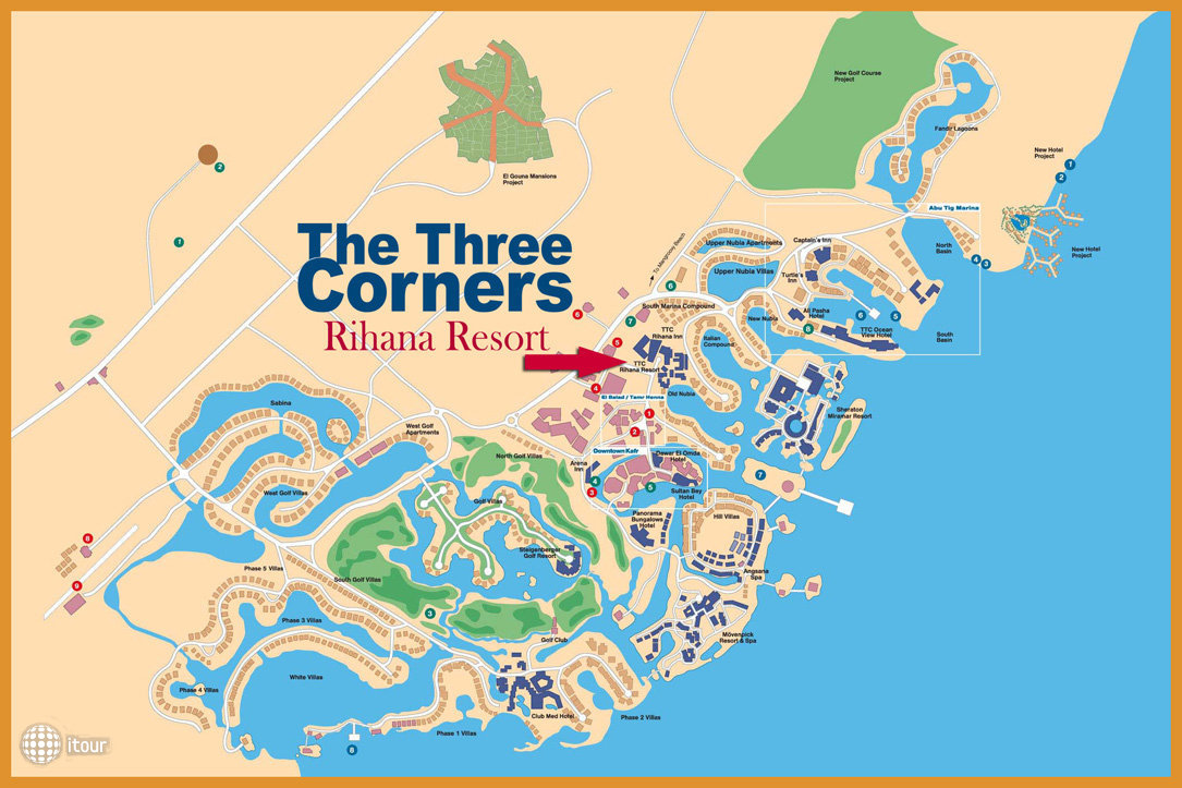 The Three Corners Rihana Resort 7