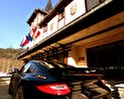 Retro Riverside Luxury Wellness Resort Hotel
