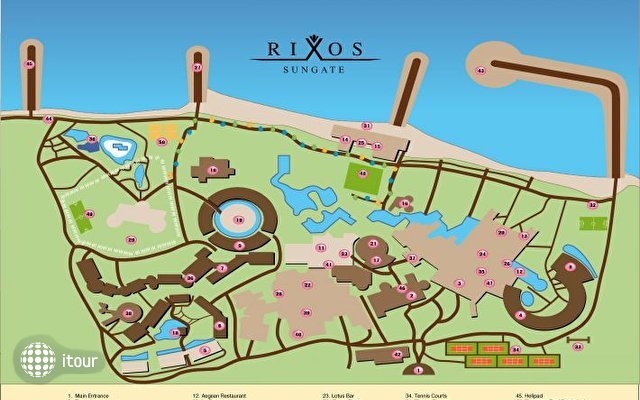 Rixos Sungate (ex.sungate Port Royal Resort) 10