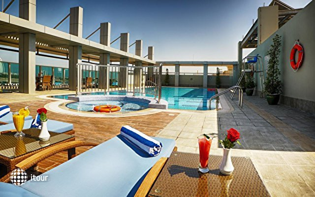 Rose Park Hotel Al Barsha 2