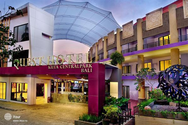 Quest Hotel Kuta Central Park 1