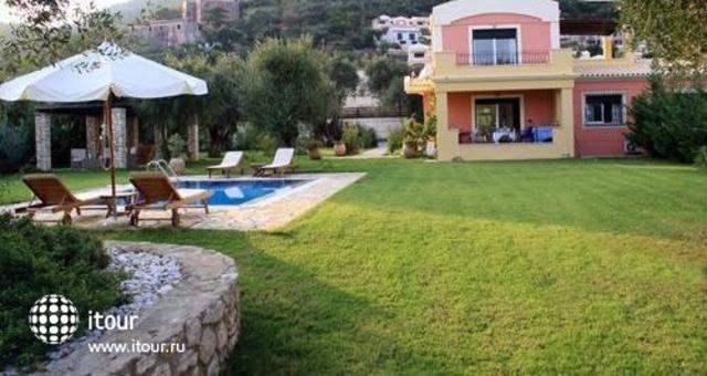 Beachfront Barbati Villa 3 2